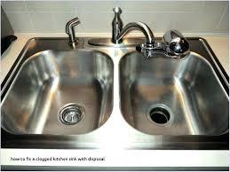 garbage disposal sink kitchen sink garbage disposal reviews fresh how to fix a clogged waste king garbage disposal sink stopper