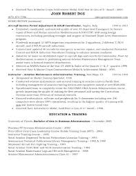Cover Letter Government Resume Web