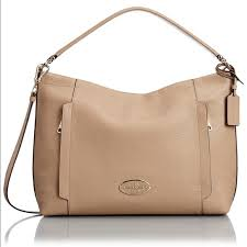 Coach Pebbled Leather Scout Hobo