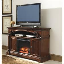 ashley furniture fireplace tv stand. Unique Stand W66968 Ashley Furniture Alymere  Rustic Brown Home Entertainment Tv  Console And Fireplace Stand L