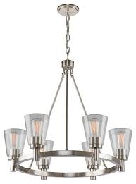 artcraft clarence 6 light chandelier 28 x28 x34 oil rubbed bronze ac10766ob transitional chandeliers by freely