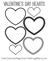 Small Picture Neoteric Design Inspiration Valentine Hearts Coloring Pages