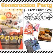 Printable Construction Signs Party Printables Construction Theme Linda Winegar