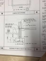 Rcc Column Design Ppt Footing Detail For Ada Ramp Ada Ramp Notes