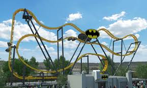 batman the ride is an s s sansei technologies free spin 4d coaster model which has opened at several six flags properties over the past several years