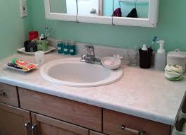 diy bathroom countertop makeover