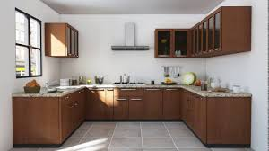Indian Modular Kitchen Design U Shape Youtube