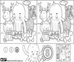 Disegni Di Giochi Di Differenze Con Pypus Difficile Da Colorare E