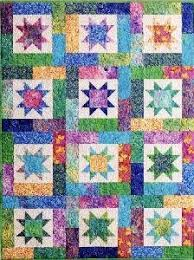 Amazon.com: Atkinson Lucky Stars Quilt Pattern FQ Quilt: Home ... & Atkinson Lucky Stars Quilt Pattern FQ Quilt Adamdwight.com