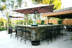outdoor stone bar barbecue plans gallery islands pits company kits ideas designs and photos bars