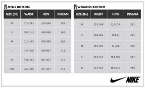 Nike Pro Combat Compression Short Size Chart Mens