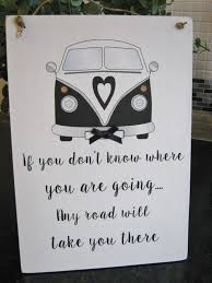 Vw Quote VW Camper Van quote Wall Plaque Auntie Sister daughter Friend Sign 15