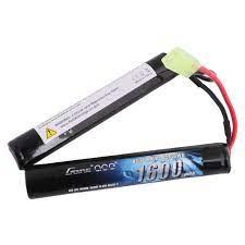 GENS ACE 1600mAh 9.6V 8S1P NiMH Batarya