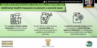 SA to move to lockdown level 1 ...