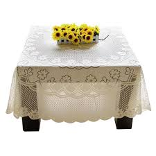 lace embroidery tablecloth dining center round square rectangle oval table cloths 60 60cm