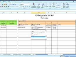 Rental Property Expense Spreadsheet Template Rent Income Excel – poquet