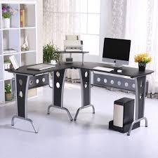 image corner computer. Black Corner Computer Desk Image P