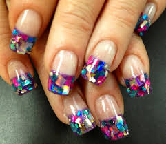 French manicure nail art designs 16 | Indian Makeup and Beauty ...