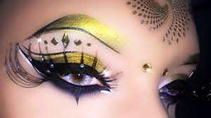 y carnival cleopatra arabic makeup tutarial using geek ft giulia a you
