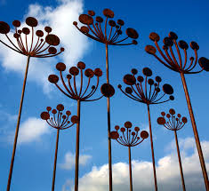 simon hemp small cow parsley garden sculpture 3 jpg
