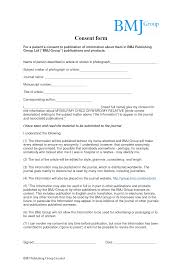 Consent Forms