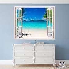 Wandtattoos Karibischen Strand Wandtatoo Fenster Wall Stickers