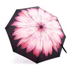 Umbrella Oak Leaf Windproof Automatic Compact Rain Travel Umbrella Lightweight Auto Open Close