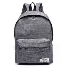Fashion Men'S <b>Backpack Women Canvas Laptop</b> Backpack Female ...