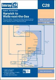 Download Book Imray Chart C28 Harwich To Wells Next The Sea