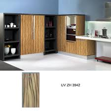 australian standard uv high gloss wood grain kitchen cabinet zh3942