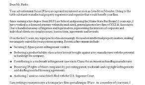 Ip Attorney Cover Letter Frankiechannel Com