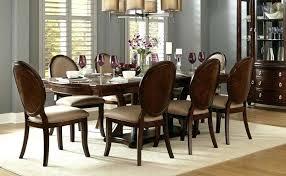 pedestal dining table sets acme 60000 vendome 9pcs cherry double pedestal dining table set