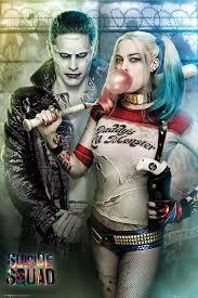 Sebevražedný Oddíl Joker And Harley Quinn Plakát Obraz Na Zeď Posterscz