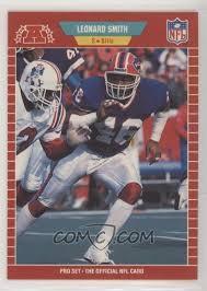 1989 Pro Set - [Base] #29 - Leonard Smith