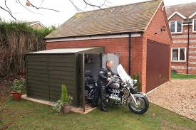 outdoor motorcycle storage motorbike sheds and secure motorcycle garages for home storage intended for outdoor motorcycle