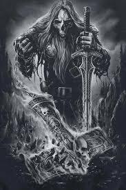 Viking Skull Kresby Tužkou Tetování Lebky Tetování A Návrhy