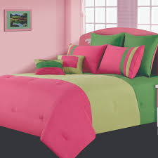 pink and green comforters hot pink and lime green bedding queen blue and green reversible comforter