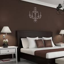 chandelier wall stencil beatrice for wall decorate painting