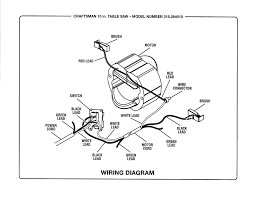 Table saw wiring schematic best wiring diagram for table saw switch fresh craftsman model saw table