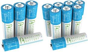 Amazoncom BedfordPower 12x AA NiCd Rechargeable Batteries For Solar Light Batteries Aa