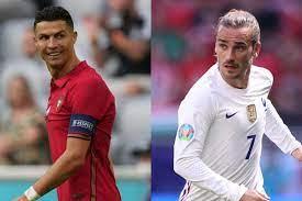 موعد مباراة البرتغال وفرنسا في يورو 2020 والقنوات الناقلة
