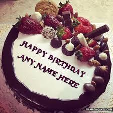 happy birthday chocolate cake with name. Modren Birthday And Happy Birthday Chocolate Cake With Name
