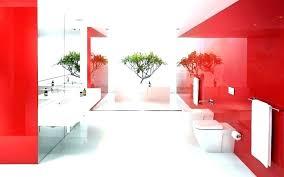 red bathroom rugs dark