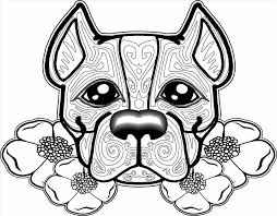 Small Picture Cute Animal Coloring Pages To Print Coloring Page Of A Boxer