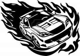 Dessin De Coloriage Voiture Course Nissan Drift L