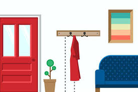 Hang Coat Rack easy install wall mount coat rack Small Home Ideas 30