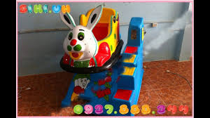 Trò chơi thú nhún điện cực bền tại TP.HCM|Thú nhún điện cho bé yêu - YouTube