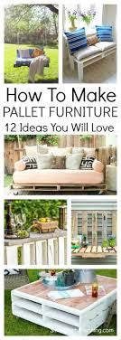 how to make pallet furniture. Learn How To Make Pallet Furniture With These Simple Step By Tutorials. All E
