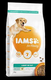 Diamond care weight management dog low fat dog food Iams For Vitality Light In Fat Dog Food With Chicken Pet Food For Cat Dogs