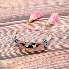 <b>Браслет</b> ручной работы Evi Eye <b>Seed Beads</b> сплетенный на ...